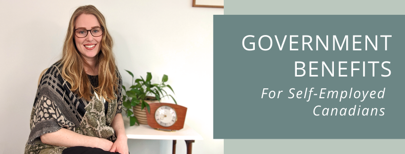 government benefits for self employed canadians