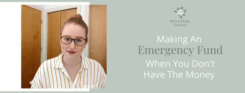 making an emergency fund