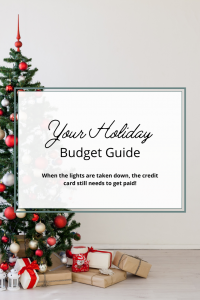 Your Holiday Budget Guide